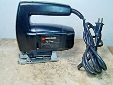 Pre-owned Tested Black & Decker #7530 Type-5 2-Speed 2500-3200 3.0 Amp Jig Saw