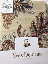 Yves Delorme PARURE IVOIRE SATIN King Superking FLAT Sheet