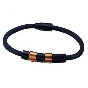 Police Armband PJ22653BLR0319 Sixpack Herren Leder Schwarz Gold NEU & OVP