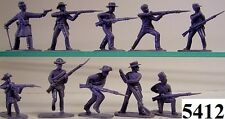 Armies In Plastic 5412 - US Civil War - Confed Infantry Figures-Wargaming