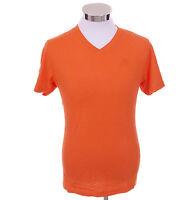 Aeropostale Men Short Sleeve A87 Slub V-Neck T-Shirt Style 4132 $0 Free Ship