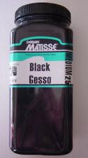 PAINTING  - MATISSE MM25 BLACK GESSO