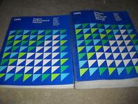 1981 Chrysler LEBARON NEW YORKER MIRADA NEWPORT Service Shop Repair Manual Set