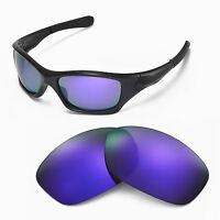 Walleva Purple Pl Polarized lens for Oakley Pit Bull