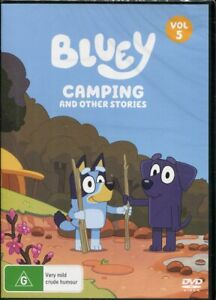 Bluey Volume 5 Camping and Other Stories DVD NEW Region 4
