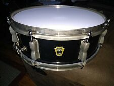 "RARE 15"" WFL/LUDWIG SNARE DRUM MAPLE WITH NICKEL ON BRASS HOOPS"