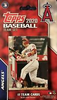 Los Angeles Angels 2020 Topps Limited Edition 17 Card Team Set-Mike Trout,Ohtani