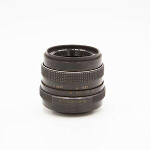 EXC Pentacon 50mm f/1.8 Auto Multi Coating Prime Lens - M42 Screw Mount