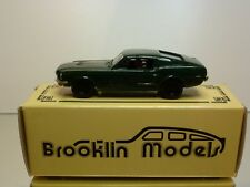 BROOKLIN 24ax FORD MUSTANG BULLIT STEVE McQUEEN 1965 - 1:43 - EXTREMELY RARE