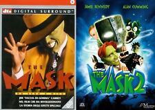 THE MASK 1&2 COFANETTO DVD COMICO-COMMEDIA