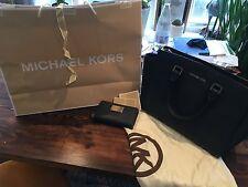 Michael Kors Selma large blue bag and phone case