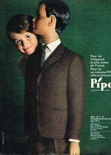 A- Publicité Advertising 1963 Vetements manteaux Garcon Pipo