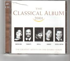 (HP270) The Classical Album 2001, 36 tracks various artists - 2000 double CD