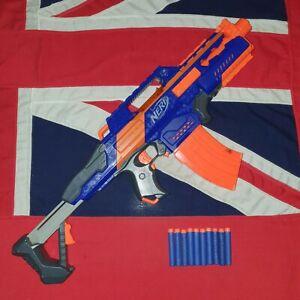 Nerf Elite Rapidstrike Blaster Gun 10 Darts Clip Magazine JOB LOT BUNDLE LARP