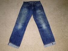 VINTAGE Levi's 501 Redline Selvedge Denim Jeans W 32 X L33