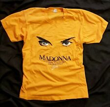 MADONNA VINTAGE WHO'S THAT GIRL TOUR T-SHIRT 1987 CHICAGO SHOW SCREEN STARS