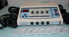 Electronic Stimulator Electro therapy Machine Pain Relief Stimulator 4 Ch DYC>@3