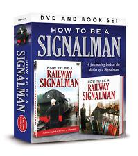HOW TO BE A SIGNALMAN DVD & BOOK GIFT SET - RAILWAY TRAIN SIGNAL MAN