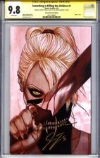 SOMETHING IS KILLING THE CHILDREN #1 CGC 9.8 SS JENNY FRISON & JAMES TYNION
