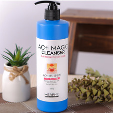 MERPHIL AC+ Magic Cleanser 500g Anti Blemish Complex Fast Acne Care Body Wash