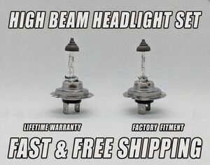 Stock Halogen FRONT HIGH BEAM Headlight Bulb For Ram ProMaster 2500 2014-2018 x2
