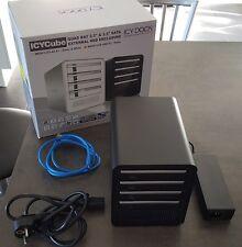 Boîtier externe ICY DOCK 4 disques durs 3.5 USB3 SATA