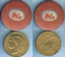Médaille de table - Ministère de l'agriculture PONSCARME D=51mm avec sa boîte