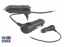 Toma de corriente mechero macho coche Plug Conector 12 V 24 V (con fusible)