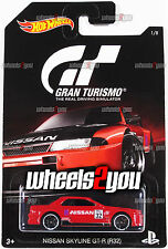 NISSAN SKYLINE GT-R (R32) - 2016 Hot Wheels GRAN TURISMO - DJL12