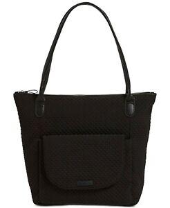 Vera Bradley Carson North South Classic Black Tote Bag
