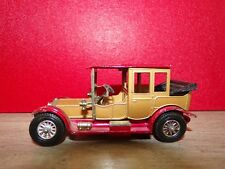 MATCHBOX - MODELS OF YESTERYEAR =  1912 ROLLS ROYCE  - N° Y 7C