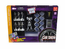 Phoenix Toys 1:24 Hobby Gear Car Show Series Diorama Set for Diecast Model Toys