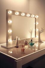 Diamond x Lucido Bianco Hollywood makeupmirror con luce DIURNA LED regolabile k313CW