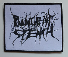PUNGENT STENCH - Black-Logo on White-Patch - Patch - 9,9 cm x 11,2 cm - 164112