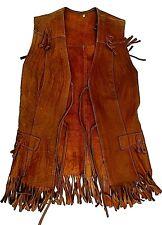 Veste indienne cuir  danse country, Far west...