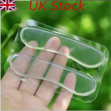 Silicone Heel Shoe Pads Inserts Insoles Liner Gel Cushion Shoe Grips UK STOCK