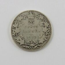 CANADA 1912 25 CENTS QUARTER WITH KING GEORGE V SEE PICTURES