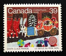 Canada #1068 MNH, Christmas - Santa Claus Parade Stamp 1985