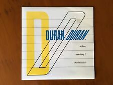 Duran Duran Is There Something I Should Know ? 7 ins vinyl single