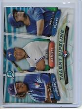 2018 Bowman Blue Jays Guerrero, Ramirez, Tellez Talent Pipeline Insert Card