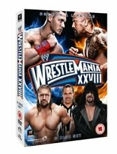 WWE Wrestlemania 28 [3 DVDs], The Rock, John Cena, Undertaker, Triple H *NEU&OVP
