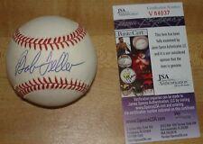Bob Feller Autographed Baseball -- JSA Certified #V 84037