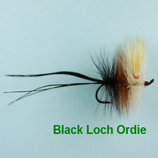BLACK LOCH ORDIE DAPPING TROUT FLY - size 8