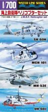 Aoshima J.M.S.D.F. Helicopter Set Plastic Model Kit from Japan NEW