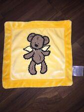 Betten Duscher NKD Schmusetuch Kuscheltuch Schnuffeltuch Teddybär Engel Gelb
