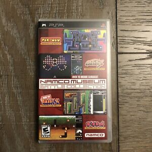 Namco Museum Battle Collection Arcade Classics (Sony PSP, 2005) Video Game CIB