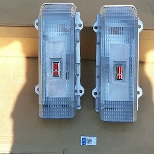 1986, 1987, 1988 Oldsmobile Cutlass Custom Clear NEW Tail Lights