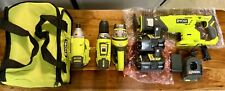 Ryobi power tools combo (8 item set) Brand New!