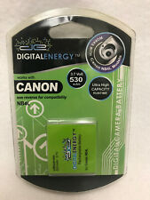 Digital Energy--Canon NB4L--Rechargeable Camera Battery (3.7v 530mAh) 230-0168