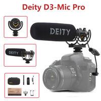 Deity V-Mic D3 Pro Microphone Professional Studio Camera Mic For Canon Nikon DSL
